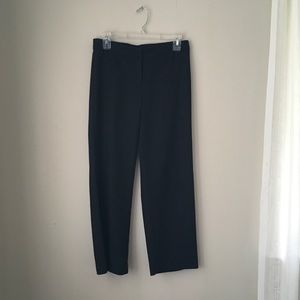 J.Jill Straight Crop Black Pant. Hidden Elastic!!